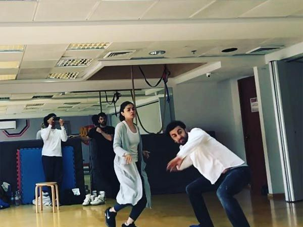 Both Ranbir Kapoor & Alia Bhatt are brilliant actors and we almost lost our calm when we heard about their collaboration for Ayan Mukerji's upcoming film, 'Brahmastra'. And we're super excited to show you the first picture of Ranbir & Alia from their training...