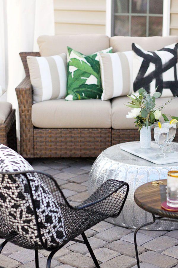 best 25  outdoor sectional ideas on pinterest