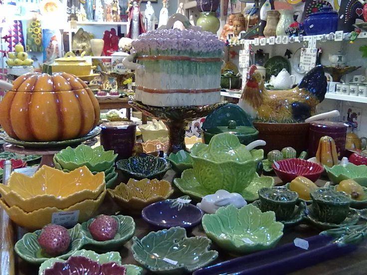 Typical pottery from Caldas da Rainha