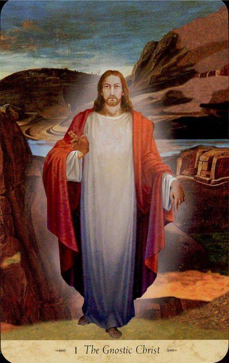 Grail- 01 - The Gnostic Christ (Tarot Card)