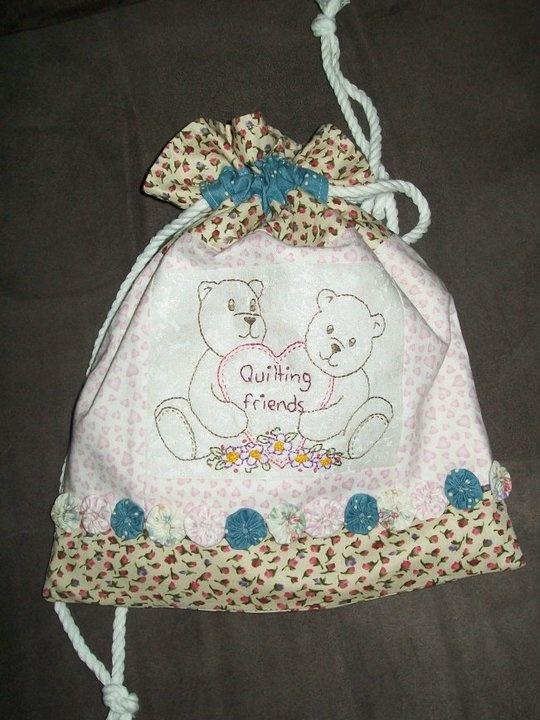 Little bag i stitched