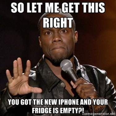 New IPhone - Funny Kevin Hart Meme
