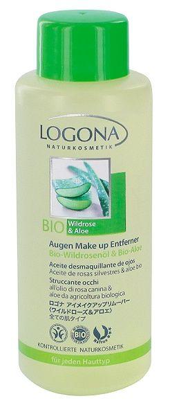 Logona Oogmake-up remover Bio wilde Rozen & Aloë (elk huidtype) €8,95