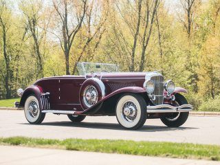 Duesenberg Model J Disappearing Top Convertible Coupe – 1929