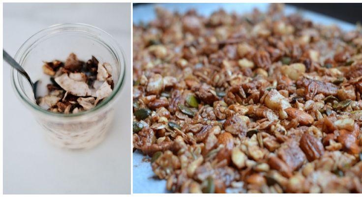 Jaffa coco-nutty granola Check out the recipe at www.theorangepantry.com.au