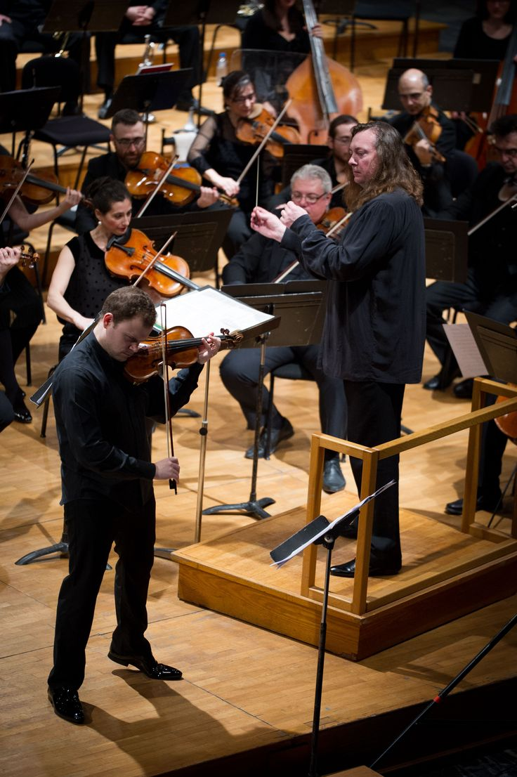 #Concert @mikulskidariusz with #Thessaloniki State #Orchestra #DariuszMikulski with #Karakantas #Violin