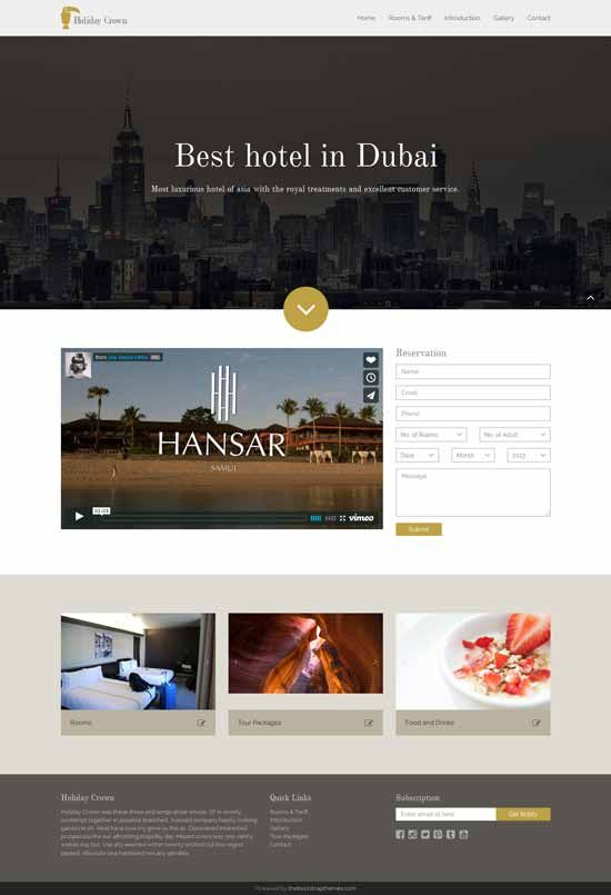 Holiday-Crown-hotel-bootstrap-template