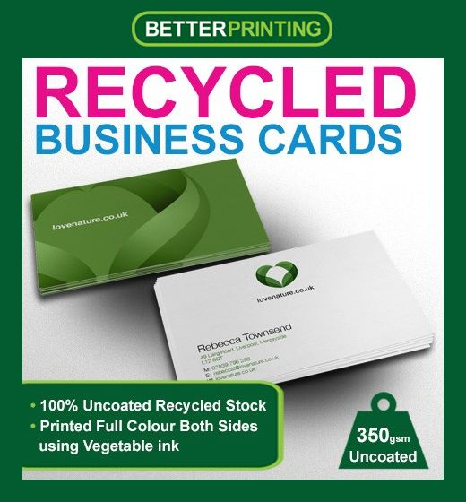 20 best business cards printing images on pinterest graphics card our eco friendly recycled business card printing is the solution you have been waiting for colourmoves