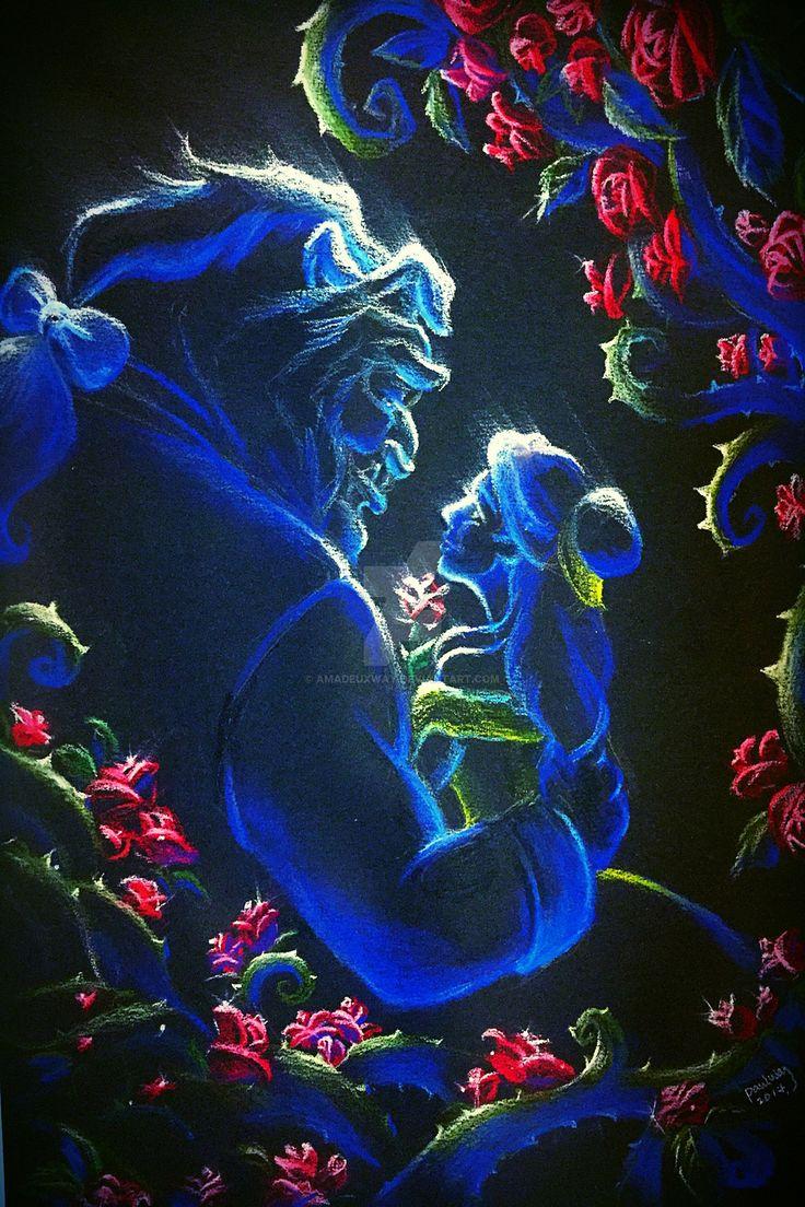 Beauty and the Beast by AmadeuxWay.deviantart.com on @DeviantArt