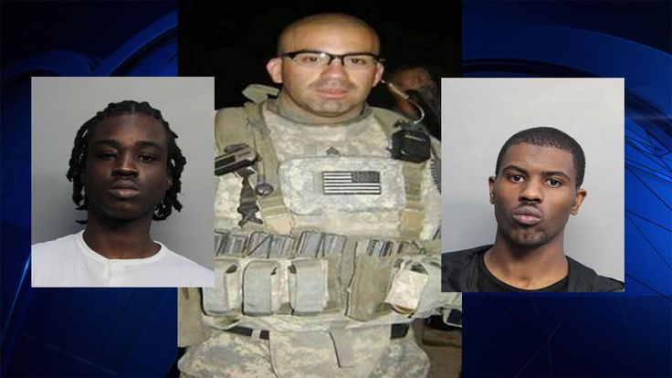 Private Officer Breaking News:  Two Arrested in Shooting Death of Former Army Ranger Outside Miami Casino (Miami FL Dec 28 2016)  KENIN BAILEY, 25 and MIKEY LENARD, 25, charged for their alleged connection to the shooting death of a former Army Ranger Fernando Duarte, 33.  During an hours-long bond court hearing Tuesday, officials revealed two possible motives behind the deadly shooting. Miccosukee police say it was murder, but one of the suspects is claiming self-defense.