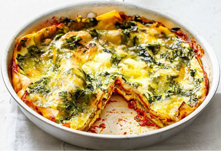 This vegetarian lasagne is perfect for a meat-free Monday.