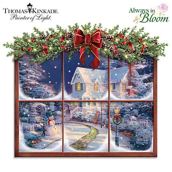 Thomas Kinkade A Captivating Christmas Wall Decor                                                                                                                                                                                 More