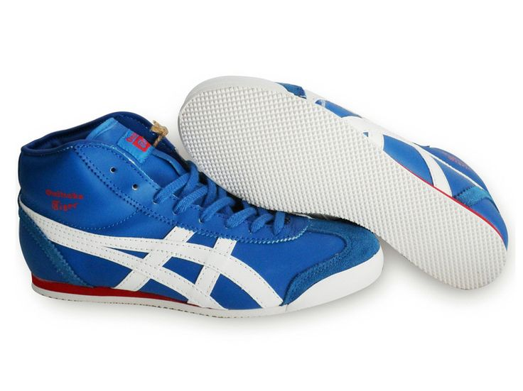 Onitka Tiger Woolen Mid Runner Mens Blue White Red [as226] - $87.00 : Asics Shoes,Asics Outlet,Asics Shoes Outlet,Asics Outlet Store