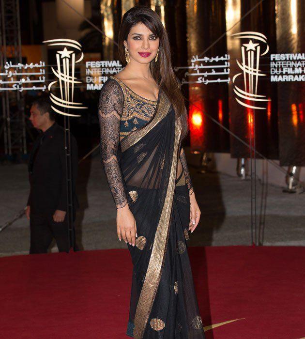 Priyanka who has walked the ramp at many international events looked dazzling