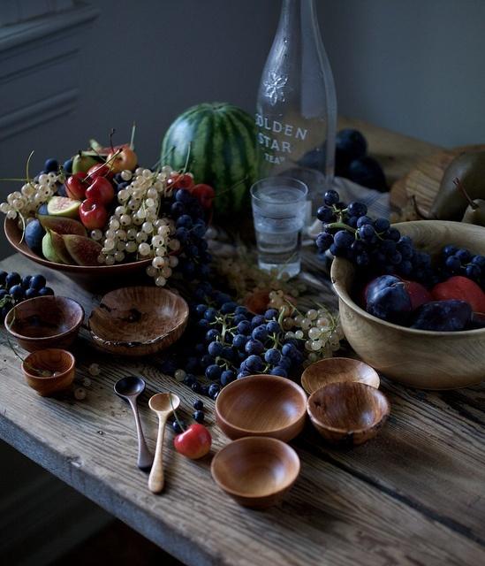 Fruit in bowls from Nikole Herriott's photostream