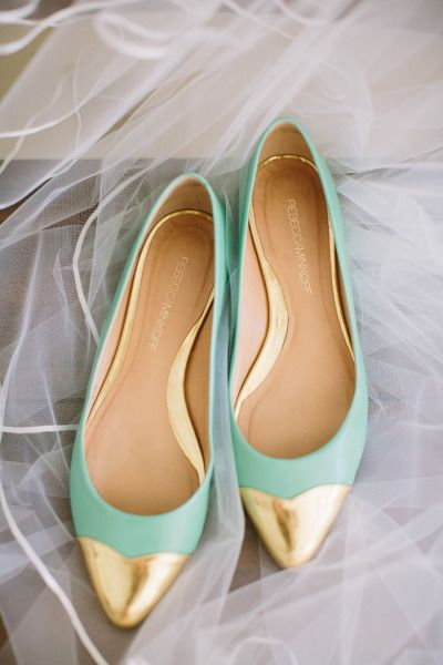 Mint and gold: http://www.stylemepretty.com/little-black-book-blog/2015/04/03/rustic-elegant-vine-hill-house-wedding/   Photography: This Love of Yours - http://thisloveofyours.com/