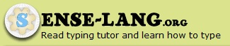 """Sense-Lang. Free. Online. Touch typing program. Also has a keyboarding tutor and free typing games. Lessons generate list of problem keys. Click on """"Test"""" to get a measure of your current rate/accuracy. The site has a lot of clutter, ads, etc. Might be best used with adult monitoring?"""