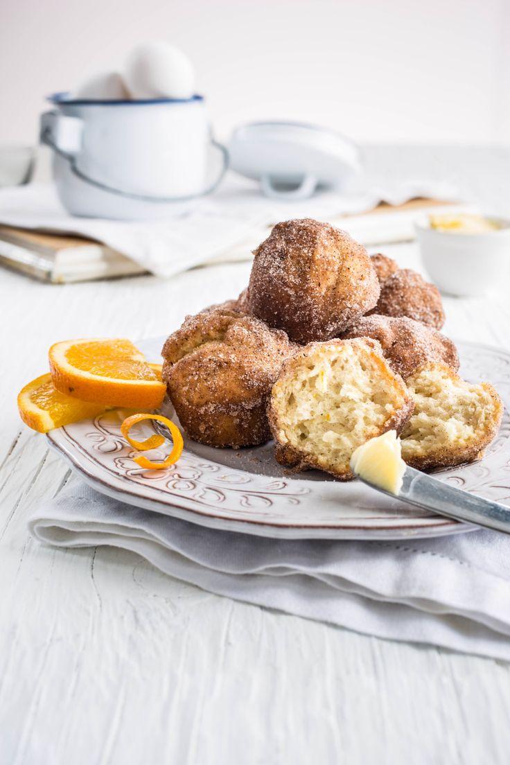 Mini-muffins au pain doré