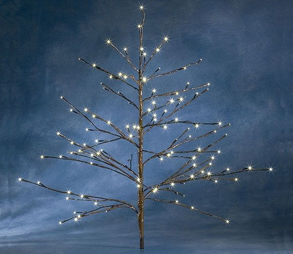 Outdoor White Twig Christmas Tree: 1000+ Images About Twig Christmas Trees With Lights On