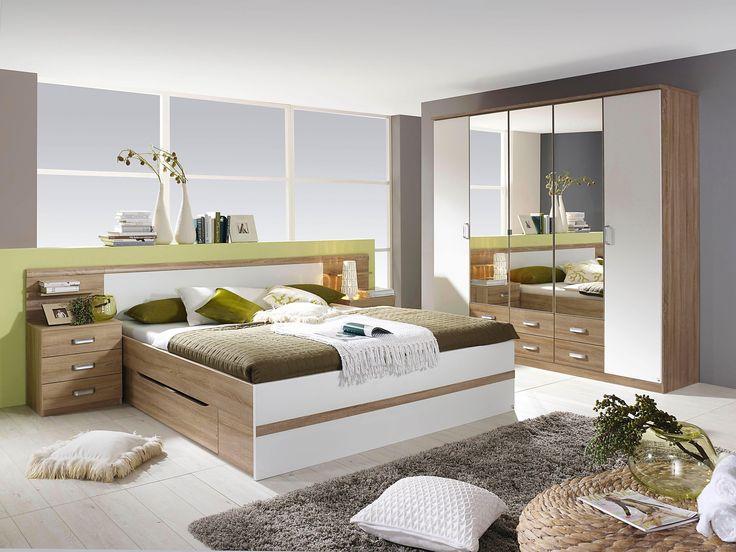 Cute rauch PACK S Schlafzimmer Set mit Kleiderschrank tlg