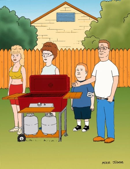 """""""I sell propane and propane accessories."""" King of the Hill"""