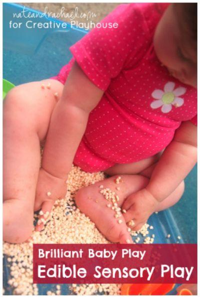 Creative Playhouse: Brilliant Baby Play - Edible Sensory Play