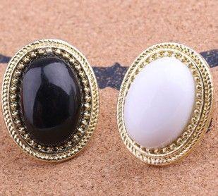 ZOSHI Fashion Acrylic Wedding Engagement Rings For Women Gold Plated Fashion Jewelry Female Ring Bijoux Wholesale Vintage Rings