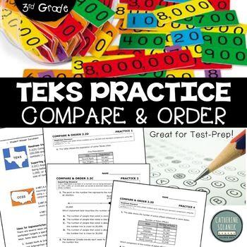 171 best staar math images on pinterest teks practice compare order 32c 32d staar test prep fandeluxe Gallery