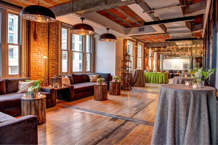 For an intimate wedding, consider The Loft at 600 F's beautiful and industrial interior.