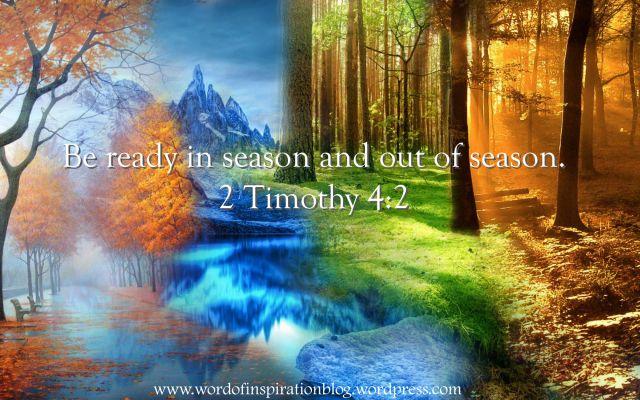 2 Timothy 4: 3-5 | Word Of Inspiration Blog