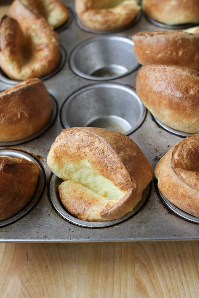 How To Make Popovers In A Muffin Tin Recipe Popover Recipe Food Recipes