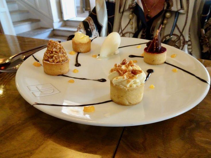 Dessert at La Place de Mougins