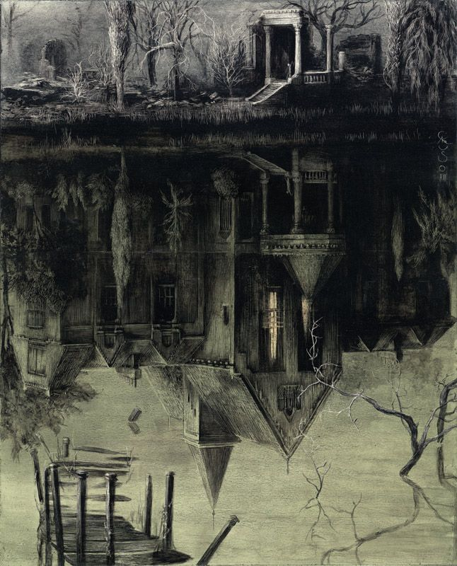 Santiago Caruso : The Spectral House