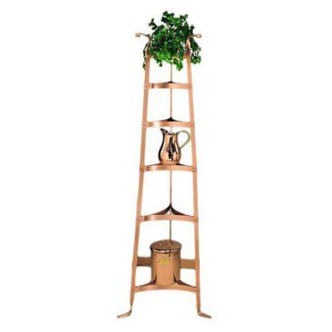 Check out this item at One Kings Lane! Cookware Stand, Satin Copper