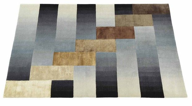 Illusory Carpet and Rug Collection by Deirdre Dyson. Modern rugs. Modern fabrics. Home decor ideas. Interior design ideas. For more inspirational news take a look at: www.homedecorideas.eu