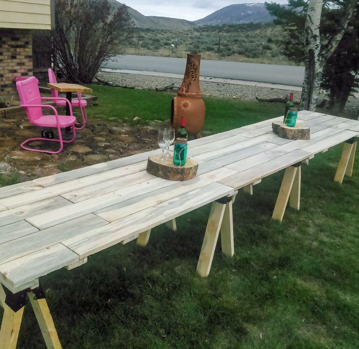 Best 25+ Outdoor farm table ideas on Pinterest | Rustic ...