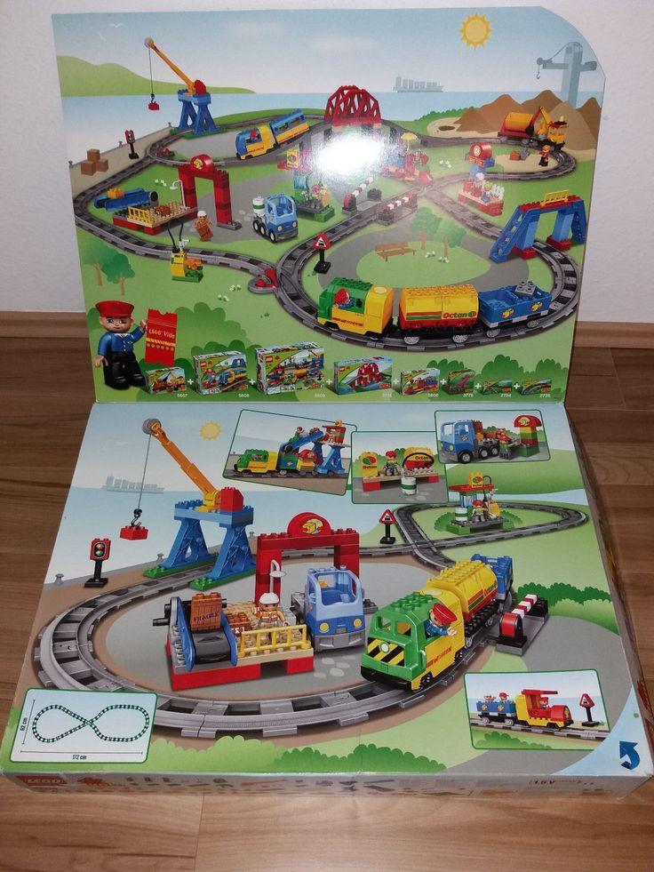 LEGO Duplo Eisenbahn Super Set (5609) komplett in OVP plus Extra Schienen (2734) | eBay