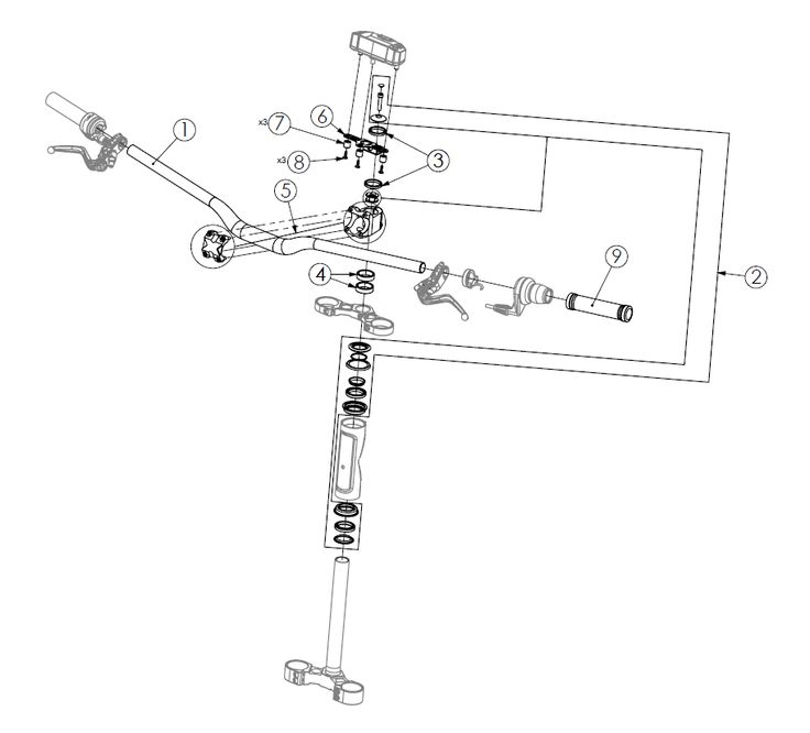 Bultaco Brinco Steering and Handlebar parts & service