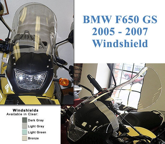 Windshield - Cee Baileys F650GS 05-07 - - A BMW Motorcycle Parts and Accessories