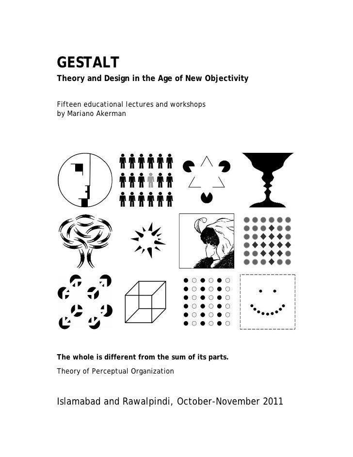 GESTALTTheory and Design in the Age of New ObjectivityFifteen educational lectures and workshopsby Mariano AkermanThe whol...