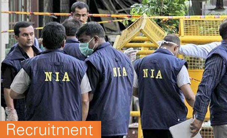 National Investigation Agency NIA Recruitment 2016 Senior System Analyst,Programmer and Network Administrator Vacancies( Last Date of Application for National Investigation Agency NIA vacancies is 25-04-2016)