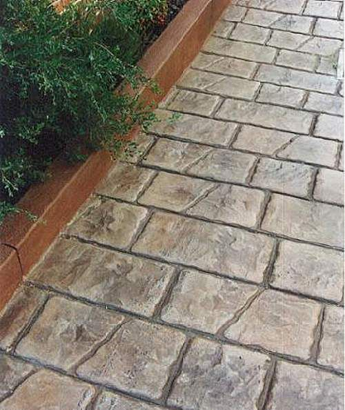 25+ Best Ideas About Stamped Concrete Walkway On Pinterest