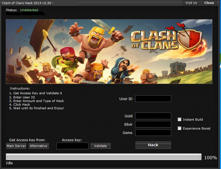 Online Clash of Clans Hack and Cheats for iOS, Android. Official tool Clash of Clans Hack and Cheats Online working also on Windows and Mac.