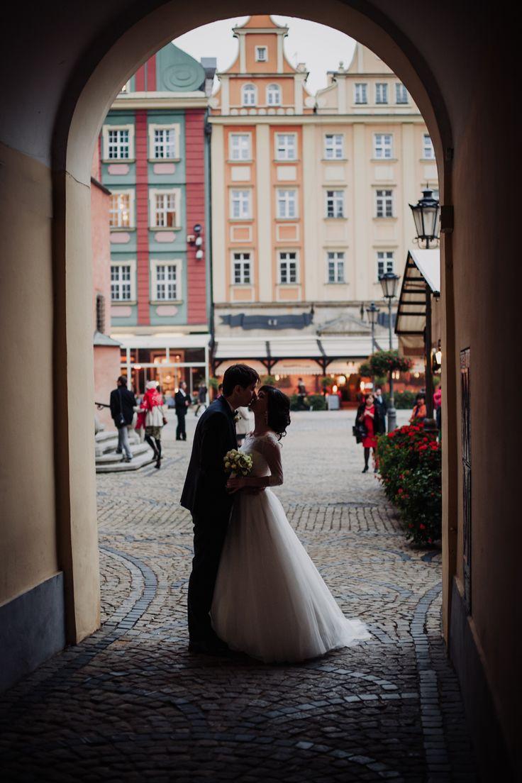 Ślubny plener zdjęciowy we Wrocławiu