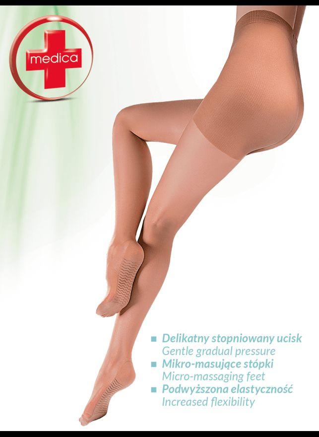 Pančuchové nohavice tvarujúce a zoštíhľujúce Medica Relax 20den