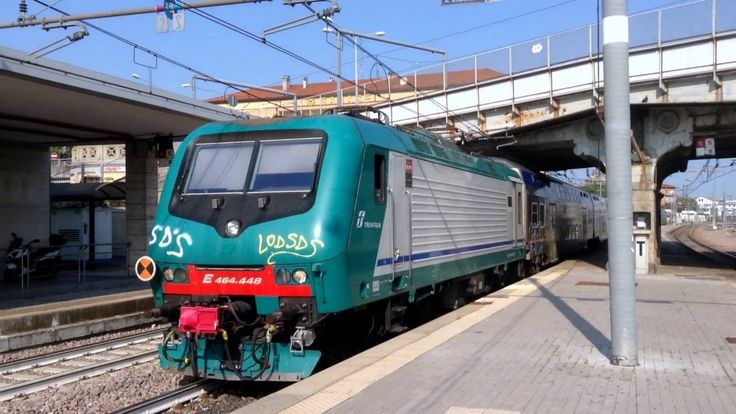 Treni Regionali Medi e Veloci - Stazione di Padova Italy. 2016