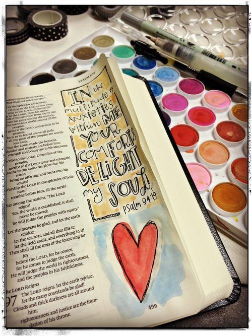 #illustratedbible #biblejournaling #journal