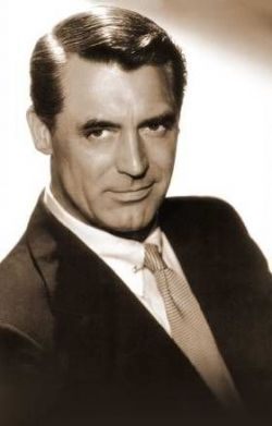 Cary Grant, gorgeous, sophisticated, witty, starred in a number of the romantic old movies (40s, 50s) my mom and I watched at 3:30 in the afternoons if I didn't have much homework.  He always managed to walk off into the sunset with the girl in those old films.