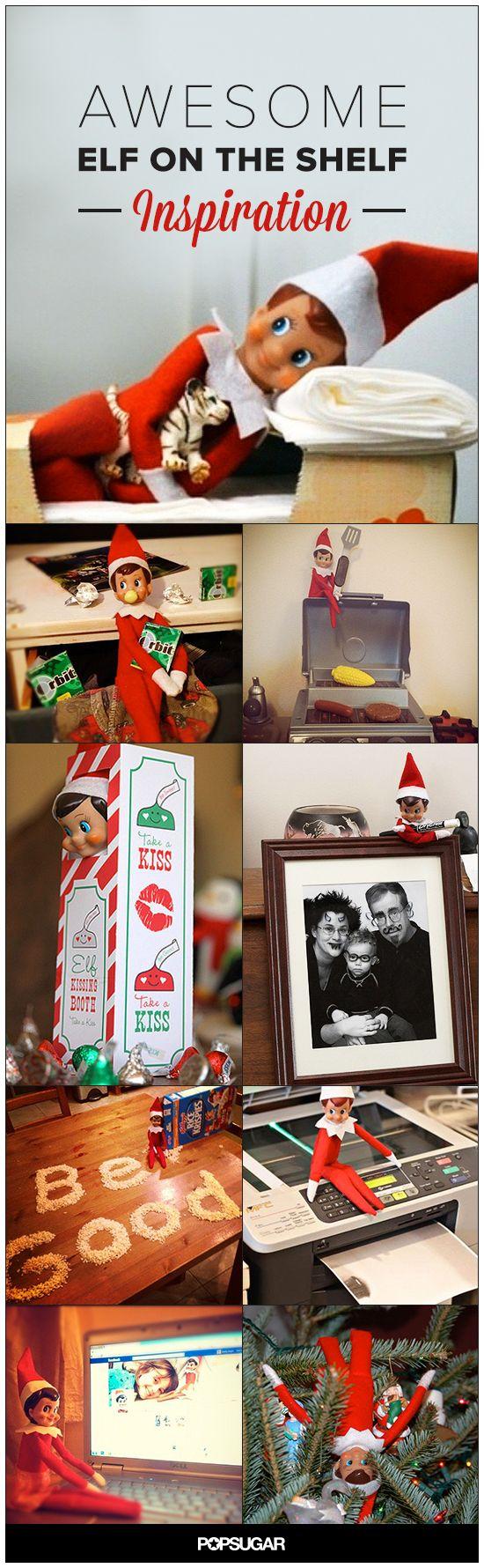 60+ Awesome Elf on the Shelf Ideas