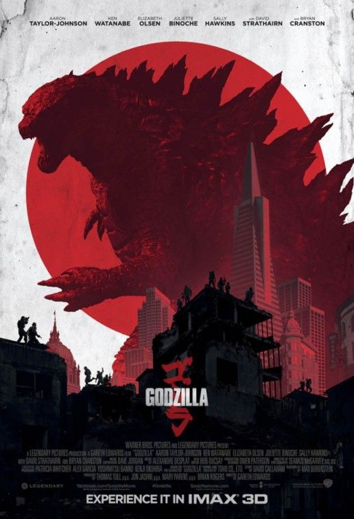 Godzilla (2014) - Directed by Gareth Edwards, saw it it was pretty awesome.